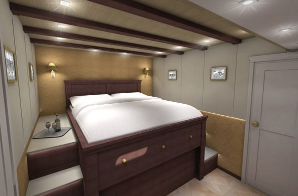 70 Sunreef Power Yacht Cabin