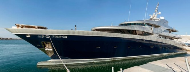 71m Sevmash motor yacht VICTORIA (ex Baltika, Project A1331) at ISA Yachts - Photo credit to Paolo Zitti