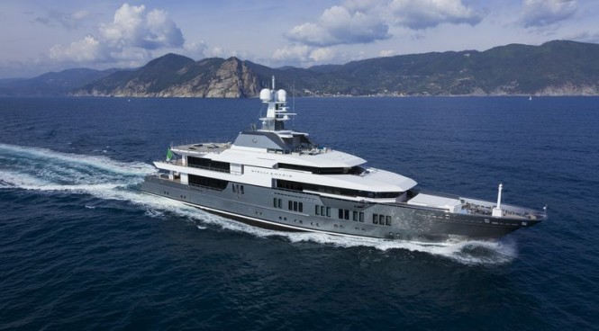72 m mega yacht Stella Maris by VSY