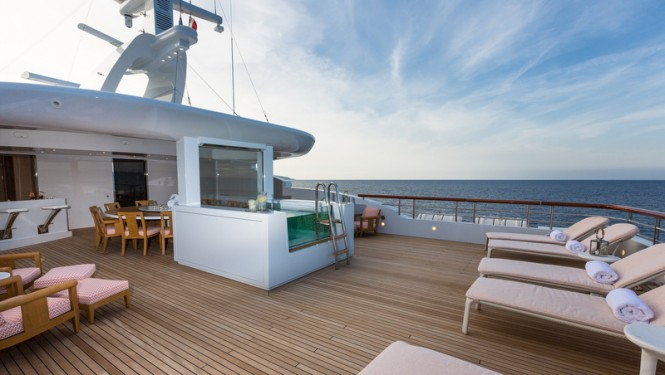 Aboard Lady Candy Yacht - Image by Jeff Brown Superyacht Media