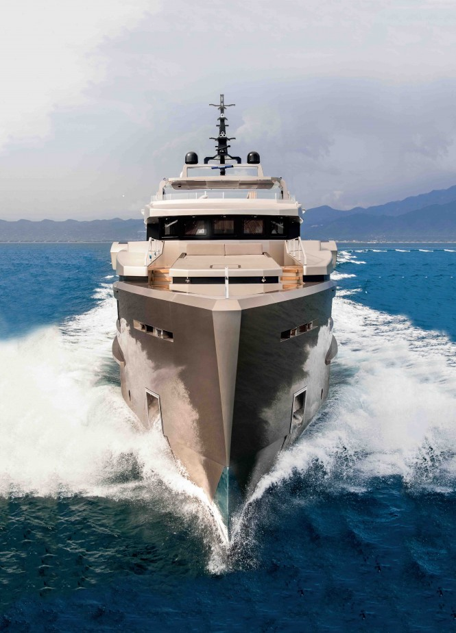Admiral superyacht Cacos V