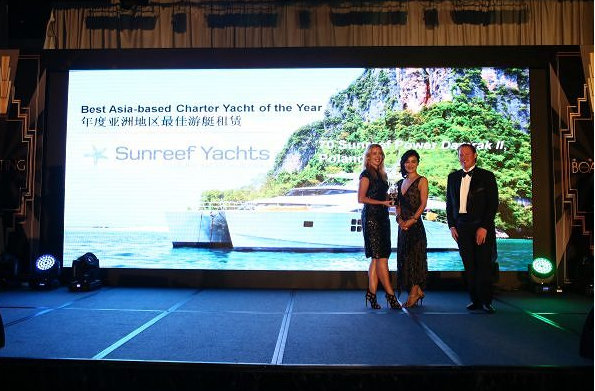 Asia Boating Award 2014 for luxury charter yacht DAMRAK II