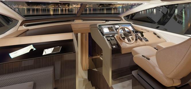 Azimut 77S Yacht - Wheelhouse