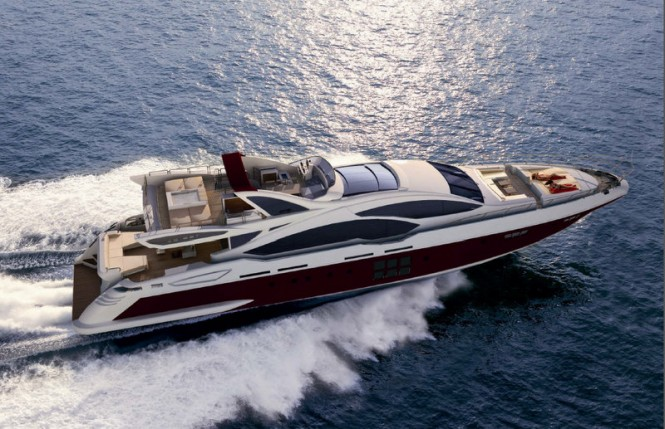 Azimut Grande SL120 superyacht Hull no. 3