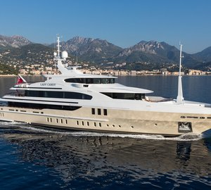 Superyacht LADY CANDY - A jewel of the Benetti family