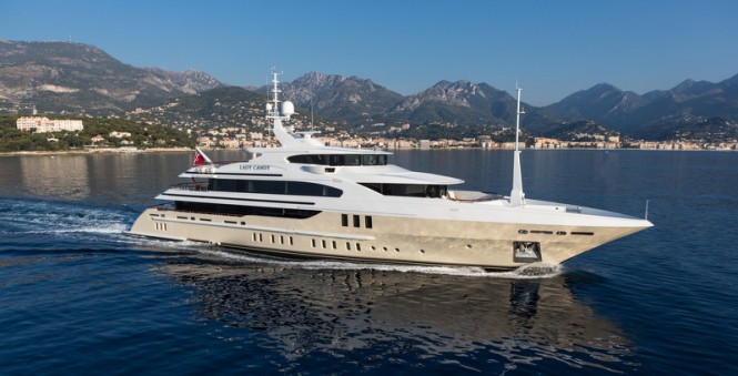 Benetti superyacht Lady Candy - Image by Jeff Brown/Superyacht Media