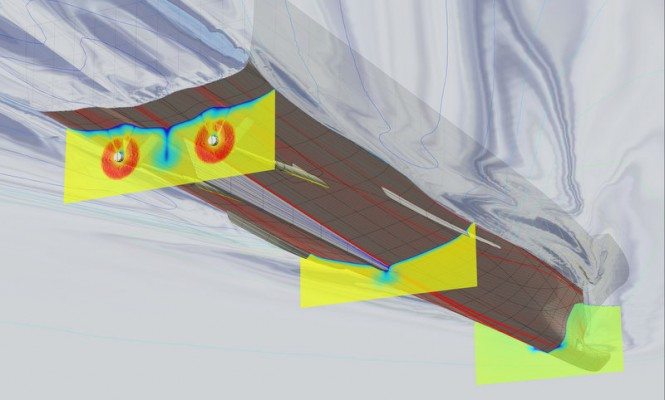 CFD analyses for the Fast Displacement Hull Form