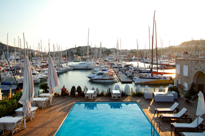 C&N 1782 Club Member Cesme Marina positioned in the lovely Eastern Mediterranean yacht charter destination - Turkey