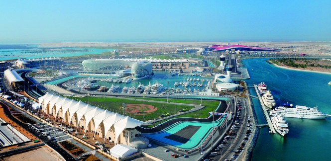 C&N 1782 Club Member Yas Marina situated in the fabulous Middle East yacht charter location - Abu Dhabi