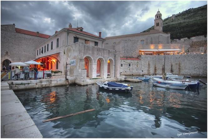 Dubrovnik Old Port - Photo credit Dubrovnik Tourism Board