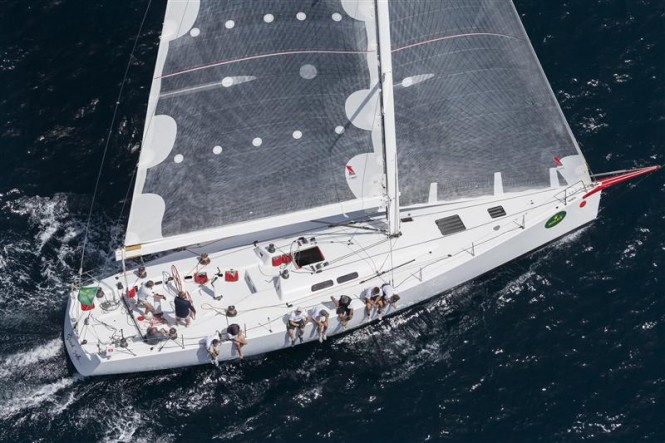 Enrico Gorziglia's sailing yacht GOOD JOB GUYS (ITA) at the Rolex Capri Sailing Week - Photo by Rolex Carlo Borlenghi