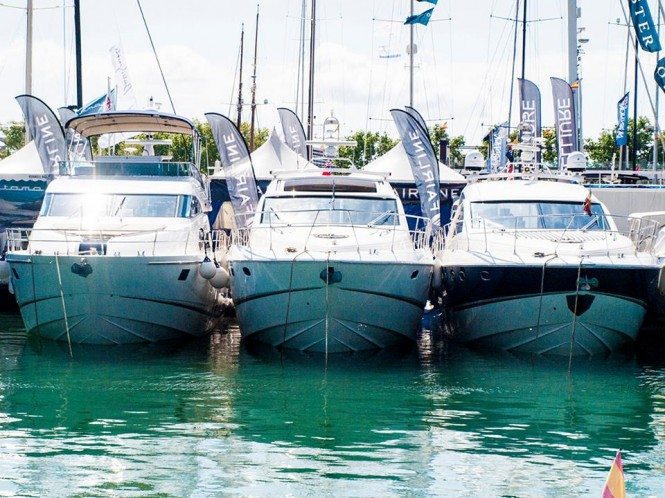 Fairline at the 2014 Palma Boat Show - Photo credit to Joan Colom