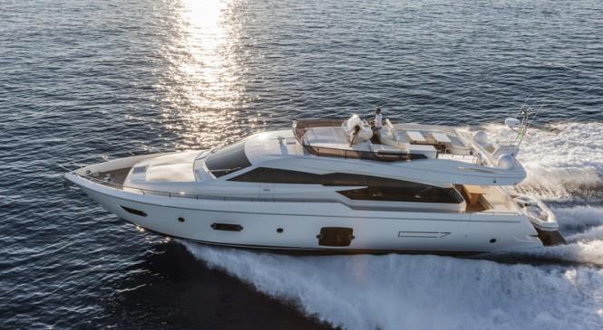 Ferretti 750 Yacht