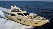 Ferretti Altura 840 superyacht Tai He Ban by Ferretti making her Asia Pacific premiere at the event