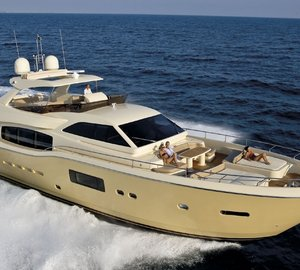 Ferretti Group attending Hong Kong Gold Coast Boat Show 2014
