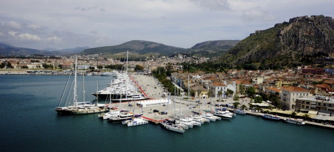 First Mediterranean Yacht Show hosted by the fantastic Eastern Mediterranean yacht rent location - Greece