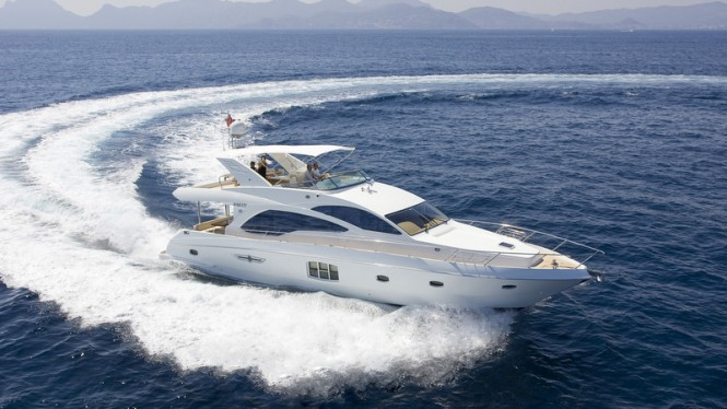 Gulf Craft luxury yacht Majesty 63