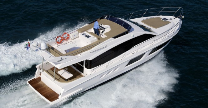 Gulf Graft motor yacht Majesty 48