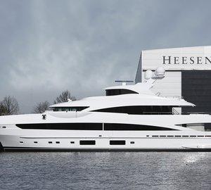 Heesen announces launch of fully custom 51m motor yacht 'MY SKY' (YN 16551)