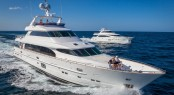 Horizon P110 Tri Deck Yacht - the largest luxury yacht to be displayed at the 2014 SCIBS