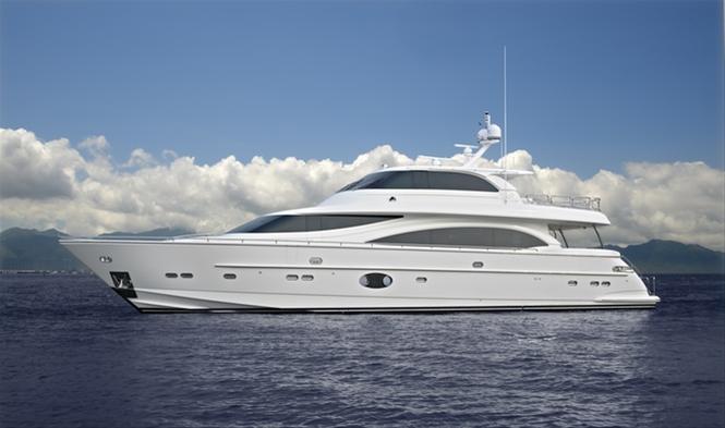 Horizon RP110 superyacht Andrea VI