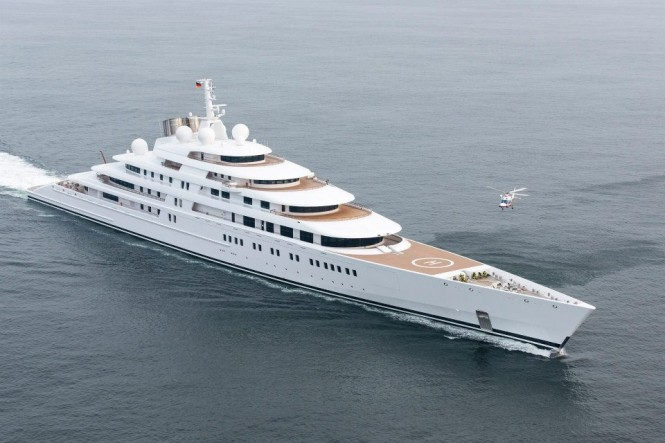 Impressive 180m mega yacht AZZAM by Lurssen