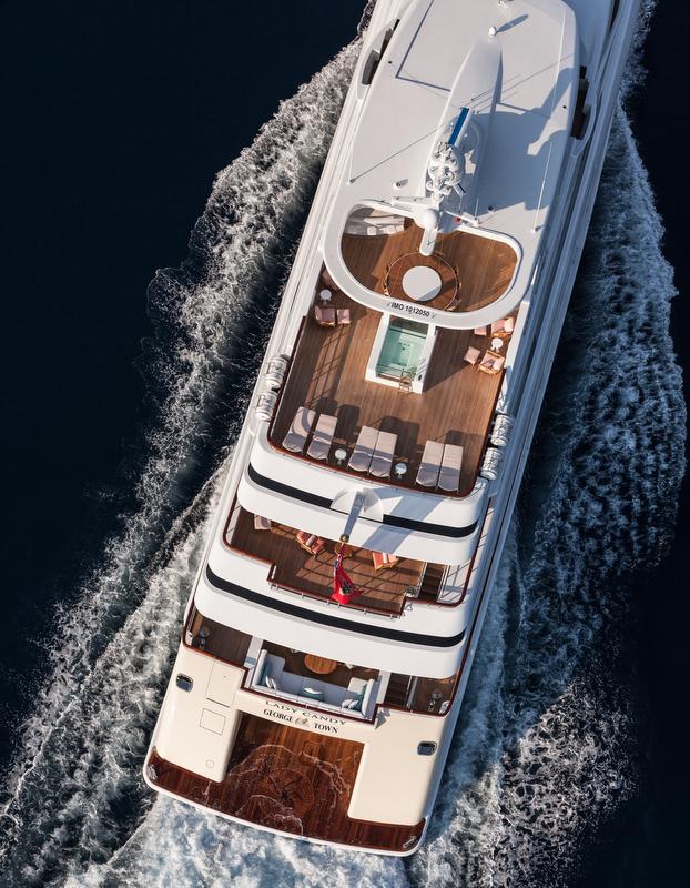 Lady Candy superyacht - Decks - Photo by Jeff Brown Superyacht Media