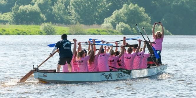 Lurssen Rowing Regatta 2014 Winning Team - Photo by Klaus Jordan