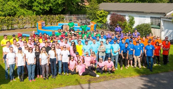 Lurssen Rowing Regatta Group - Photo credit to Klaus Jordan