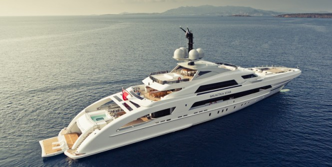 Luxury motor yacht Galactica Star