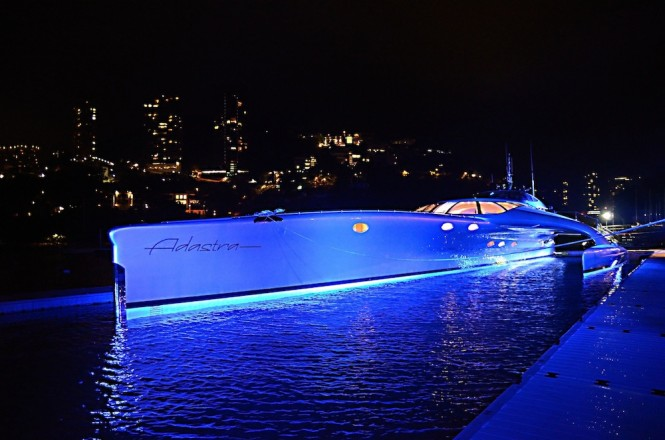 Luxury superyacht Adastra built by McConaghy Boats