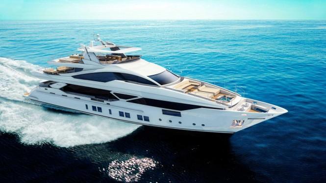 Luxury superyacht Veloce 140 by Benetti