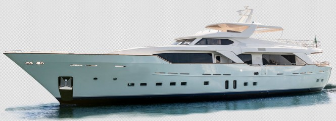 Luxury yacht Blue Berry