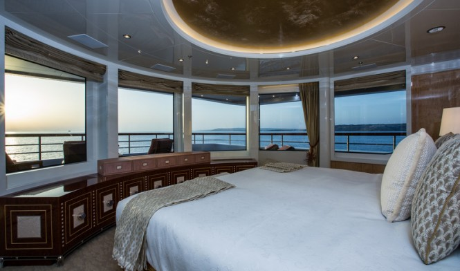 Luxury yacht Lady Candy - Cabin - Image by Jeff Brown Superyacht Media
