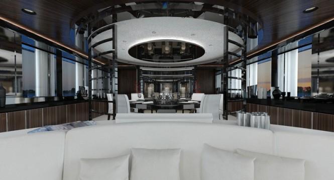 Luxury yacht MY SKY - Interior