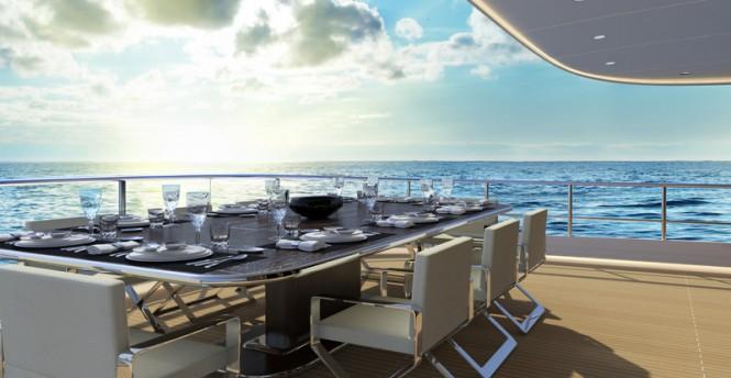 Luxury yacht Z164 - Exterior