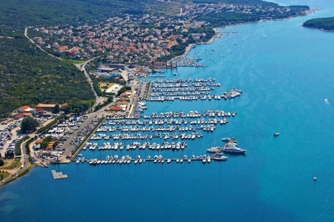 Marina Punat in the lovely Mediterranean yacht charter destination - Croatia to once again host the Selene Yachts Rendezvous