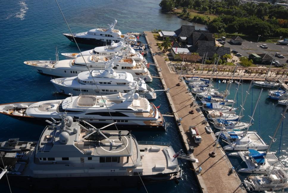 Marina Taina Dock In The Fascinating South Pacific Yacht