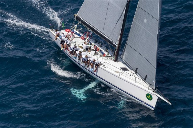 Marton Jozsa's Hungarian Mini Maxi Yacht Wild Joe. Photo by Rolex/Carlo Borlenghi