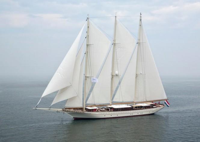 Mega yacht Mikhail S. Vorontsov