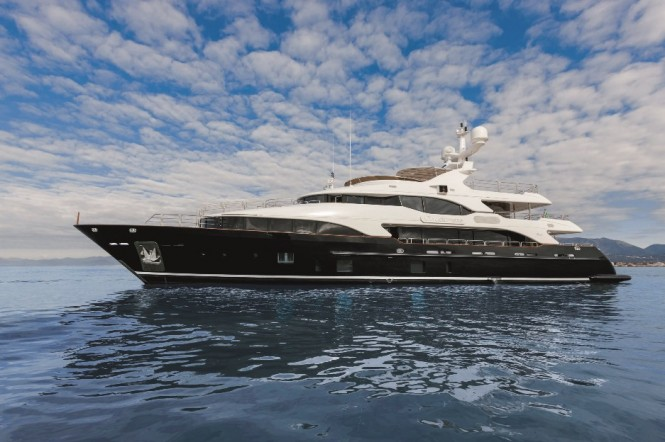 Motor Yacht CHECKMATE (BV018) - a sister ship to super yacht LATIKO (BV019)