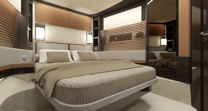 Motor yacht Azimut 77S - VIP Cabin
