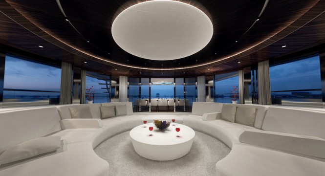 Motor yacht MY SKY - Lounge