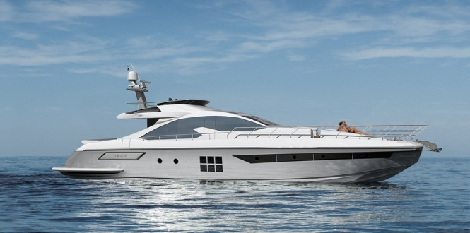 New superyacht Azimut 77S by Azimut Yachts