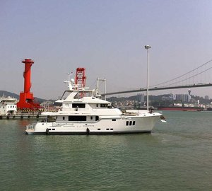 Successful first leg of delivery for Nordhavn 86 #10 Yacht KOONOONA