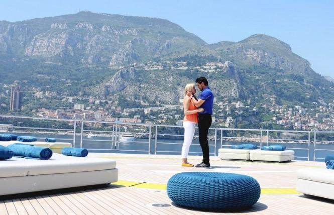 "Don Diamont, Katherine Kelly Lang ""The Bold and the Beautiful"" Monaco Location Monte Carlo, Monaco 06/13/13 © Denis Guignebourg/jpistudios.com 310-657-9661"