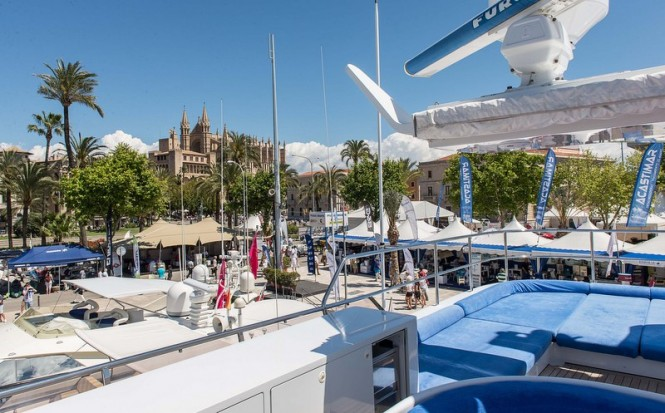 Palma Superyacht Show 2014 hosted by the lovely Spain yacht charter destination - Palma