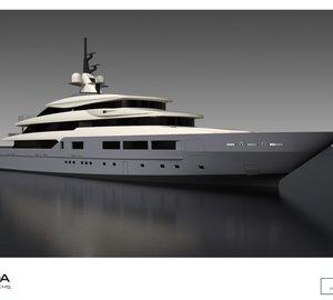 Works on Tankoa S693 Yacht progressing well