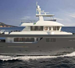 New Darwin 86/03 motor yacht GRA NIL launched by Cantiere delle Marche