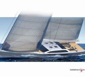 New 24m sailing yacht BLISS II (Bd80) by Cyrus Yachts and beiderbeck designs launched